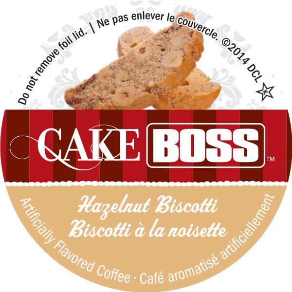 Cake Boss Hazelnut Biscoti i-kups
