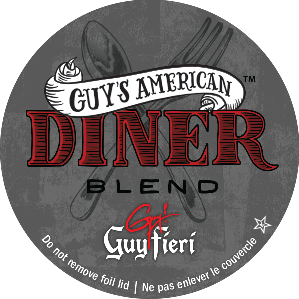 Guy's American Diner blend i-kup coffee