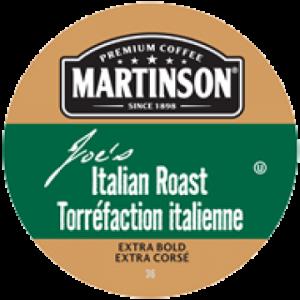 Martinson Italian single serve coffee