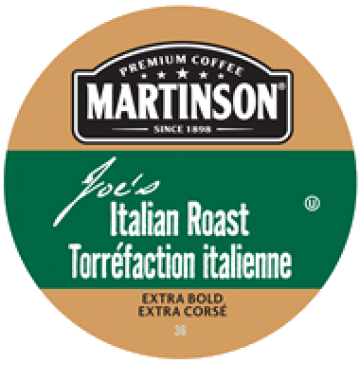Martinson Italian single serve coffee