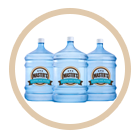 5 gallon water bottles