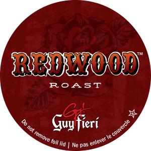 Guy's redwood roast blend i-kup coffee