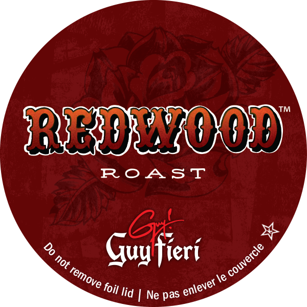 Guy's redwood roast blend i-kup coffee