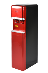 Red office water purifier